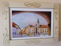 Set 6 rame foto cu vederi din Sibiu