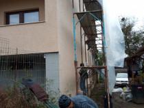 Anvelopare fațade case blocuri etc