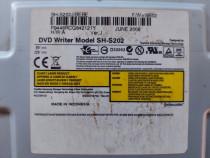 Dvd-rw,drive, samsung ,sh-s202, 20x, ide, intern,negru, dvd