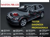 Diagnoza auto Mercedes Bmw Audi VW Skoda Seat