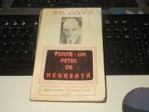 N.D. Cocea Pentr-un petec de negreata Fundatia Chemarea 1993