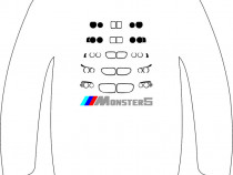 "Hanorac personalizat ""Monster5"""