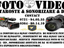 Filmari Nunti - Foto / Sonorizare / Staroste