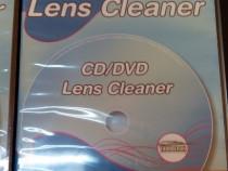 CD Cleaner cu periute pentru cd-player