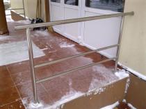 Balustrade din inox - scari interioare