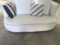 Set nou de canapele din piele, pentru sufragerie  3+2+1+1