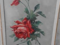 Tablou trandafiri rosii