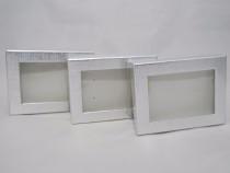 Marturii nunta/botez cutie cadou cu geam plastic marturie