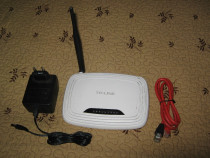 Router wireless N TP-LINK TL-WR740N cu accesorii