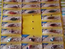 Lingurite rotative si oscilante pentru pescuit la rapitor