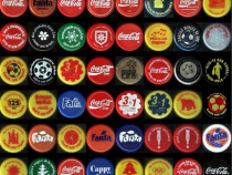 Colecţie 48 modele capace Coca Cola româneşti