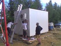 Shelter tehnic telecom