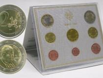 2006 Vatican Euro Set emis. oficiala BENEDETTO XVI FDC UNC