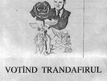 Manifest + caricatură din 1990
