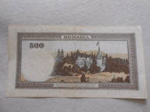 Bancnota 500 lei 1941