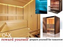 Sauna la comanda,biosauna,saune de exterior