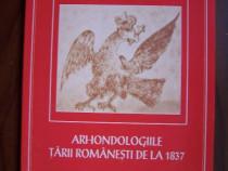 Arhondologiile Tarii Romanesti de la 1837 - P. Cernovodeanu