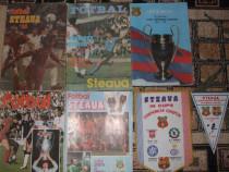 Fotografii,reviste,fanion cu STEAUA 1986