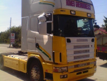 Scania 580 V 8 Royal Edition Piele Klima pe cabina