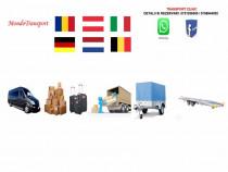Transport persoane Romania-Austria-Germania-Belgia-Olanda
