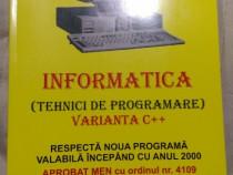 Informatica clasa a IX-a si a X-a