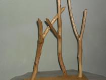 """Sculptură lemn """"Dans"""""""