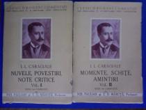 2 volume Opere - I. L. Caragiale / C64P