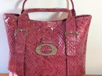 Geanta Guessoriginala, din piele, mare, roz, noua, nepurtata