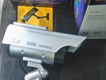 Set 2 x camera video falsa supraveghere video solara noua