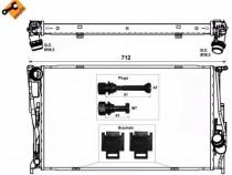Radiator racire BMW Seria 1 2006 - 2012 E81 116d, 118d, 120d