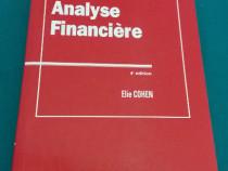 Analyse financiere/ 4 edition/ elie cohen/ 1997