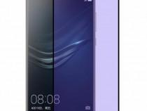 Folie Sticla Huawei P9 White Fullcover Tempered Glass Ecran