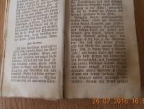 Carte veche anul 1847 scrisa in limba germana