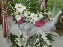 Flori nunta, lumanari, buchete, cocarde Bacau Vrancea Neamt