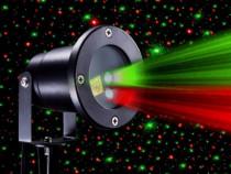 Laser exterior Garden laser -  Star Shower metalic cu teleco