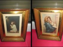 Foto artistice mici pereche dupa tablouri celebre.