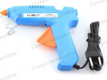 Pistol de lipit cu bare de silicon, 60W, Kemot - 400794