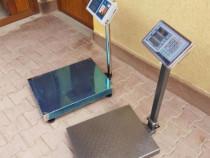 Cantar 300 kg platforma , display afisaj si acumulator