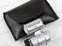 Lupa tip microscop, 40X, iluminare cu LED-113458