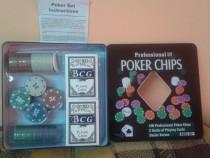 Set Poker 100 jetoane/chips