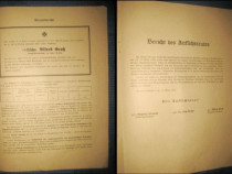 Raport 1943 Asigurari Transsylvania & Landwirte.