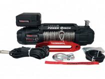 Troliu cu coarda sintetica PowerWinch PW 12000 Extreme HD SR