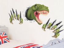 Sticker \ Abtibild Dinozaur 3D camera copil dim: 90 x 45 cm