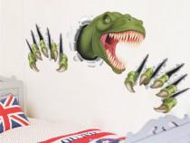 Sticker \ Abtibild Dinozaur 3D camera copil dim: 90 x 45 cm