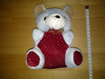Mini Ursuletul Rosu 20 cm jucarie copii