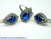 Set bijuterii argint rodiat Model ST106731