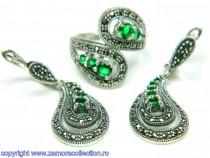Set bijuterii argint rodiat Model ST560559