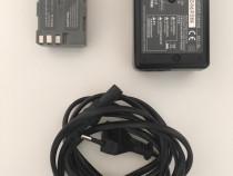 Incarcator quick charger nikon mh-18a + acumulator en-el3e