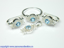 Set bijuterii argint Model ST111231