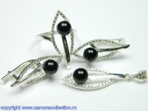 Set bijuterii argint Model ST102233